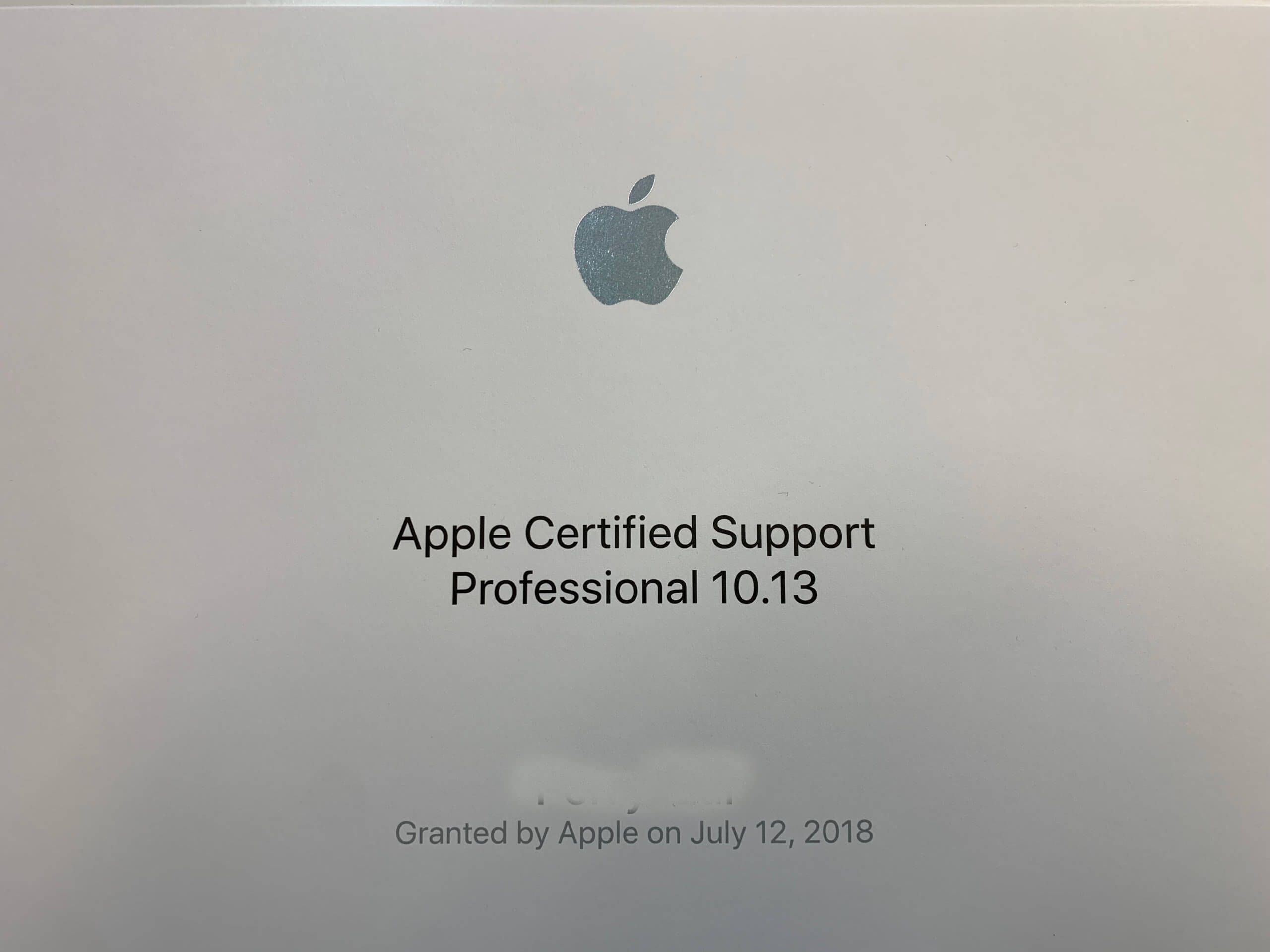 Apple Certified Support Professional 10.13_Perry