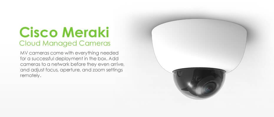 Meraki MV cloud-managed-cameras